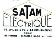 SATAM Electrique, 1941
