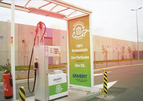 Illustration Première station biométhane