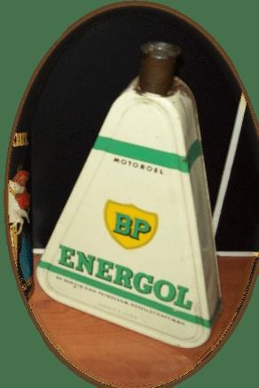 Bidon BP ENERGOL blanc