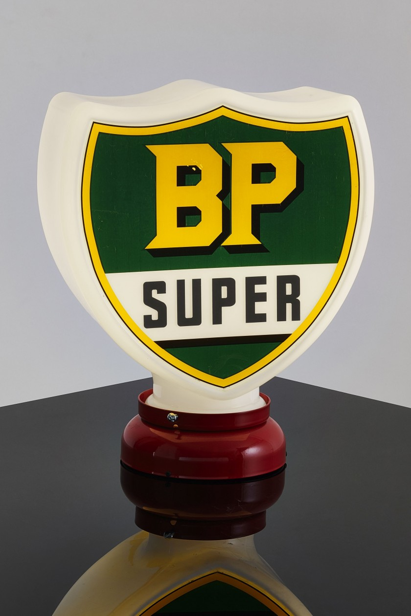 BP SUPER Globe de pompe à essence