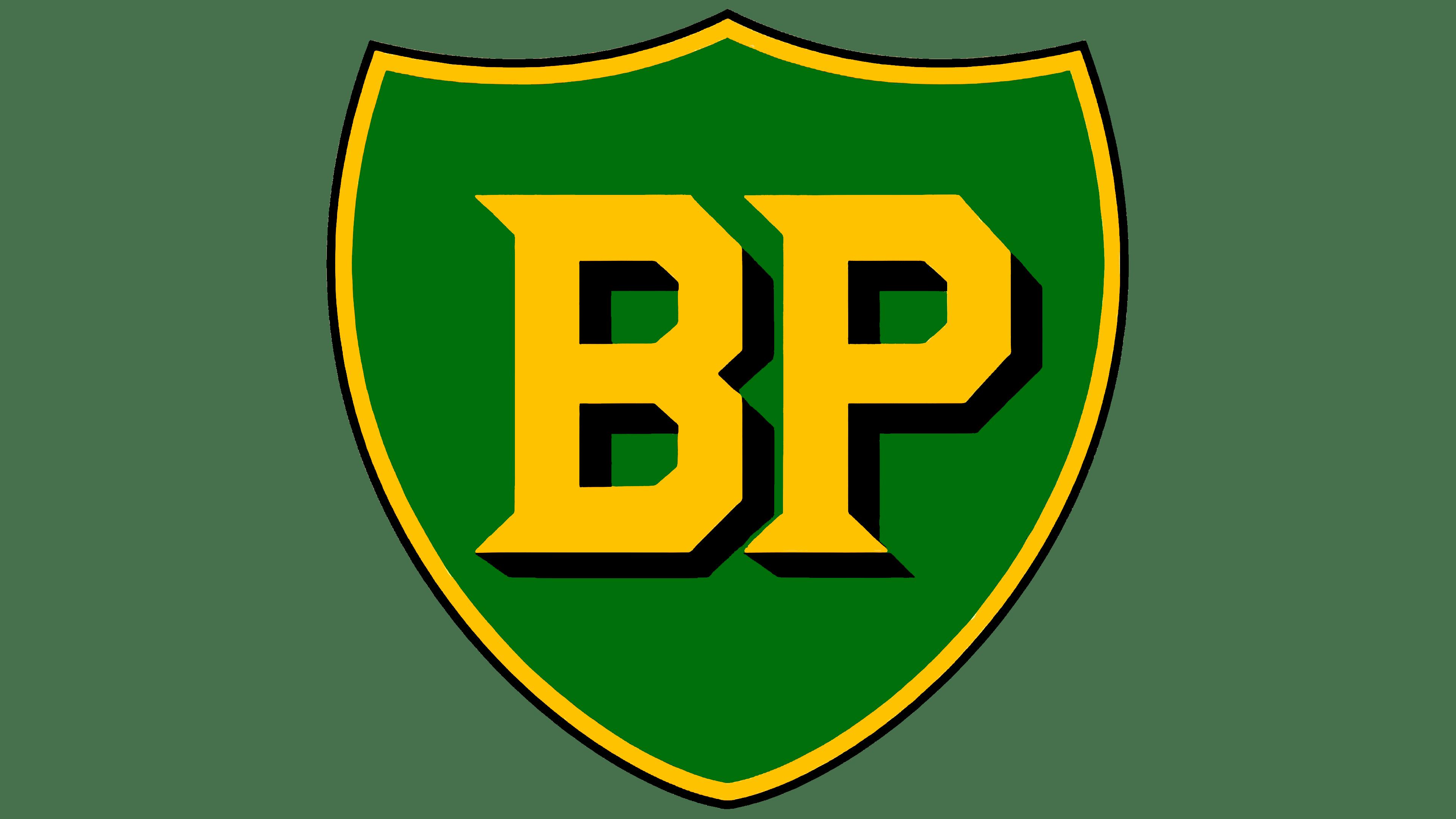 Logo BP 1947 - 1958