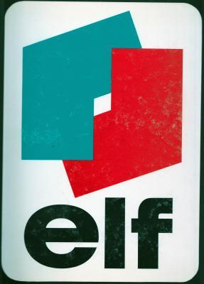 Le premier logo ELF